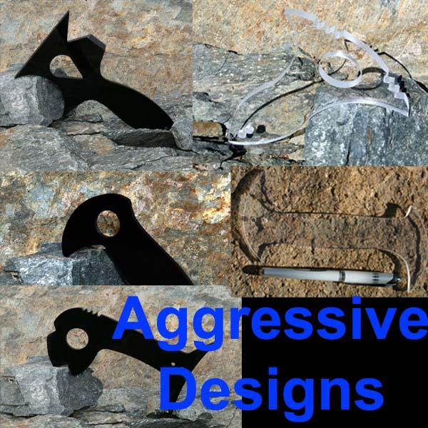 Aggressive Self Defense Weapon