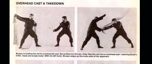 Master Brusso in a Ninja Magazine.