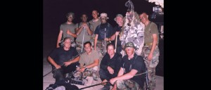 Training Marines a night about being a good Ninja!